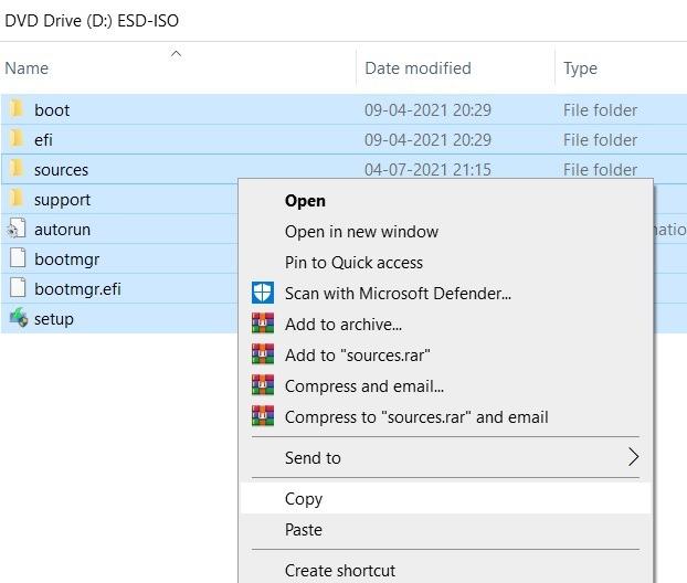Windows11 التثبيت المتسرب Iso Copy