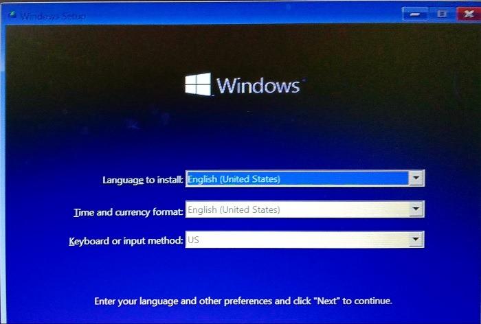 تثبيت لغة التثبيت المتسربة لـ Windows11