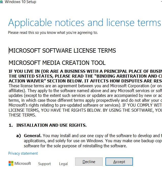 اتفاقية ترخيص التثبيت المتسرب لـ Windows11