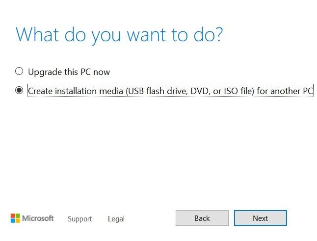 Windows11 التثبيت المتسرب وسائط تثبيت Windows10