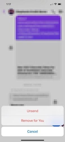 Bulk Delete Facebook Messenger Ios