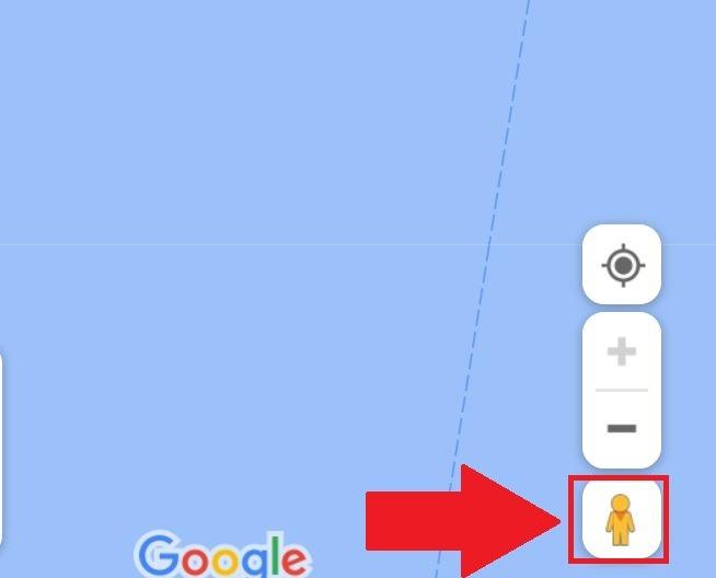 أيقونة خرائط جوجل ستريت فيو