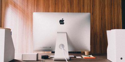 Photo of a Mac on a desktop