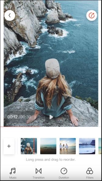 تطبيقات الصور والفيديو Flipagram