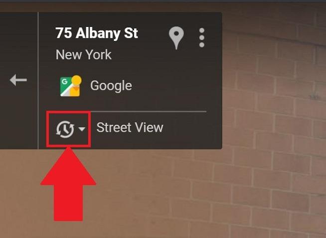السفر عبر الزمن Google Maps Street View
