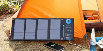 Big Blue Solar Charger Featured
