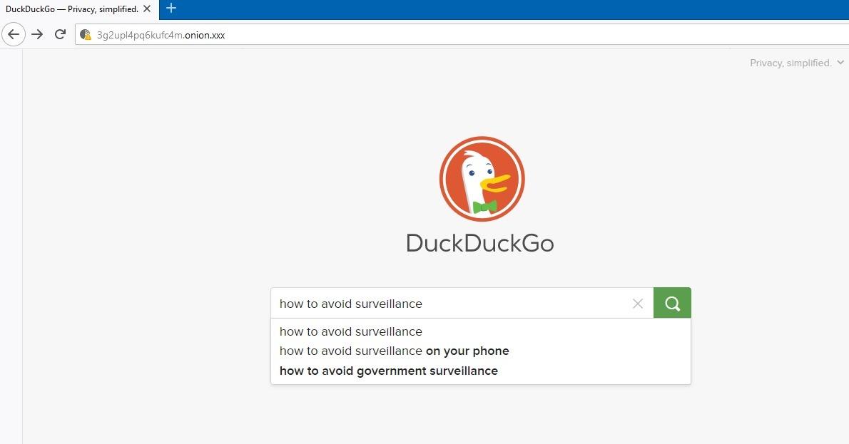 موقع Dark Web Google Duckduckgo Onion