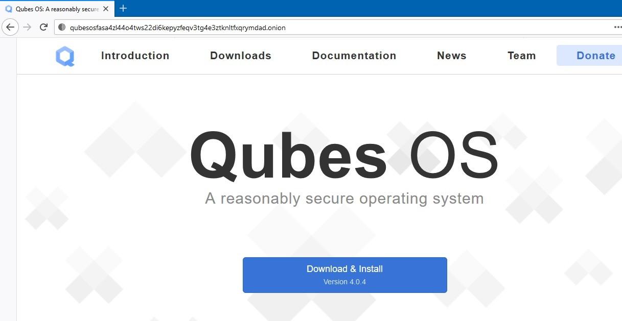 Dark Web Google Qubes Os Onion