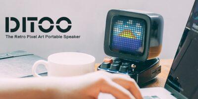 Divoom Ditoo Bluetooth Speaker Featured