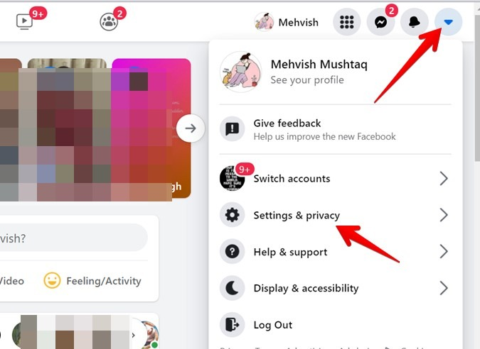 Facebook Account Settings And Privacy