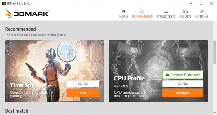 How To Benchmark Your Windows Pc Update 3dmark Setup 3