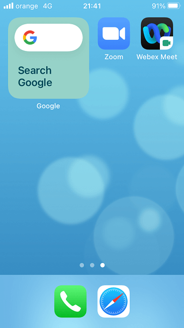 How To Change Google Background Ios Wiget View