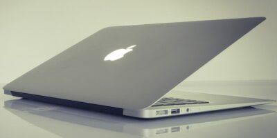 Mac Laptop Folded