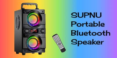 Supnu Portable Bluetooth Speaker Featured