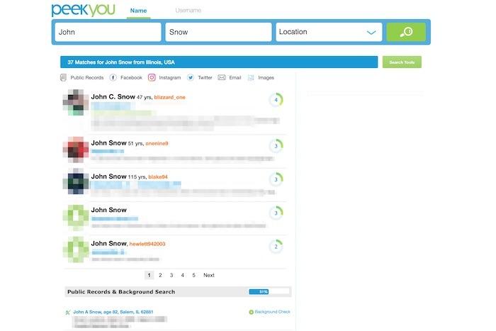 Best People Finder Websites Peekyou